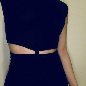 Boohoo Black Cutout Mini Dress BRAND NEW WITH TAGS